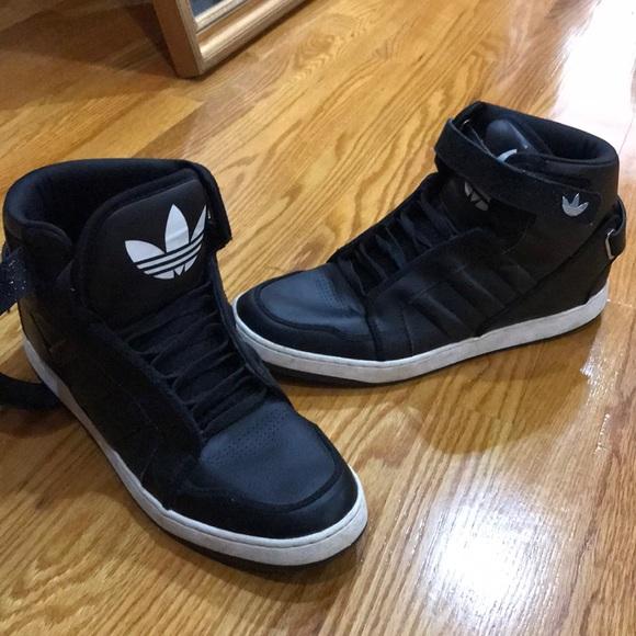 Blackwhite Leather Sneakers Mens   Poshmark